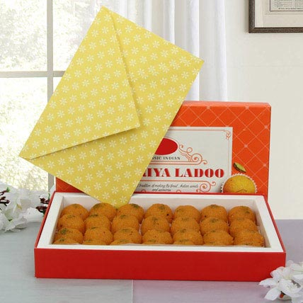 Box of Motichoor Laddoo: Sweets in Dubai
