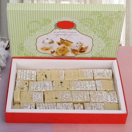 Yummy Pista Barfi:  Sweets Delivery