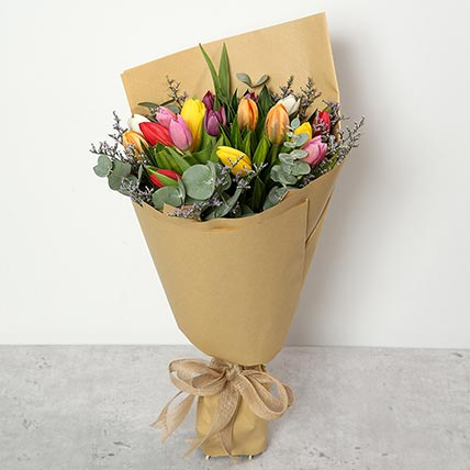 Beautiful Tulips Bouquet: Birthday Gifts to Ras Al Khaimah