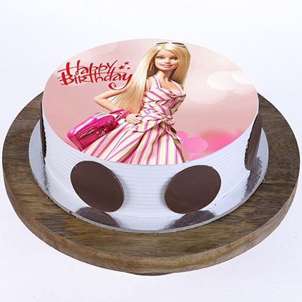 Stylish Barbie Cake: Barbie Doll Cake