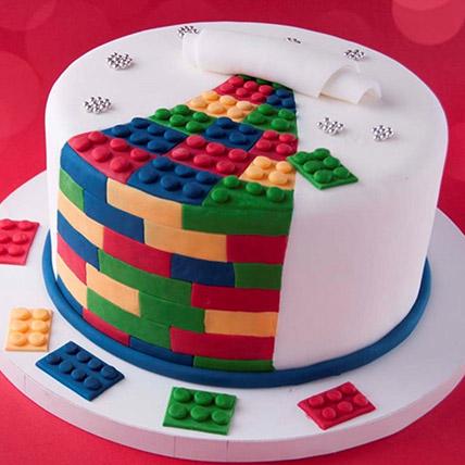 The Lego Blocks Cake 3 Kg: Lego Cake