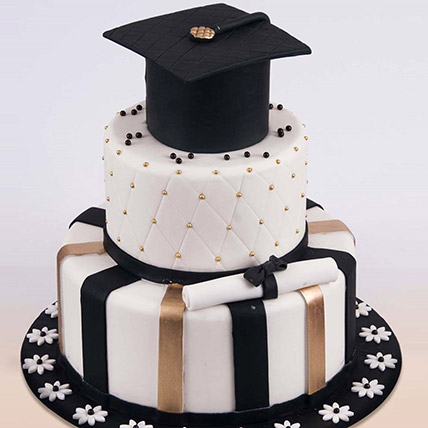 Graduation Hat Cake 6 Kg: Graduation Theme Cakes