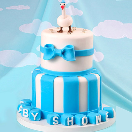 Baby Shower Duck Theme Cake 5 Kg: 3D Cakes Dubai