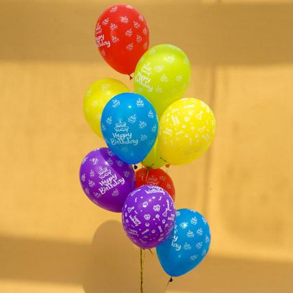 Happy Birthday Helium Balloons: Helium Balloons Dubai