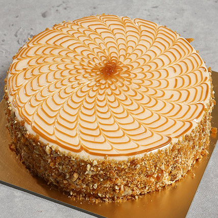 500gm Yummy Butterscotch Cake: Cake Delivery in Ras Al Khaimah