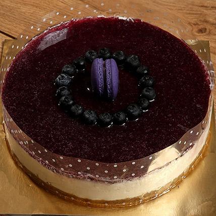 Blueberry White: Cakewalk