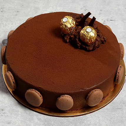 Ferrero Rocher Cake: Congratulations Cakes