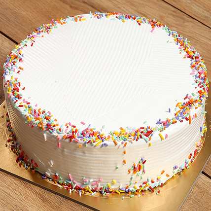 Rainbow Cake: Anniversary Cakes for Parents
