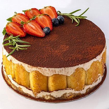 4 Portions Tiramisu Cake: Tiramisu Cake Delivery