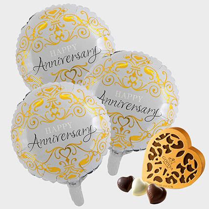 Anniversary Balloons and Godiva Chocolates: Godiva Chocolate Dubai