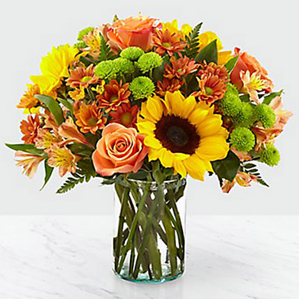 Colours Of Life Flower Vase: Halloween Gifts