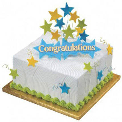 Congratulations Cake: Graduation Theme Cakes