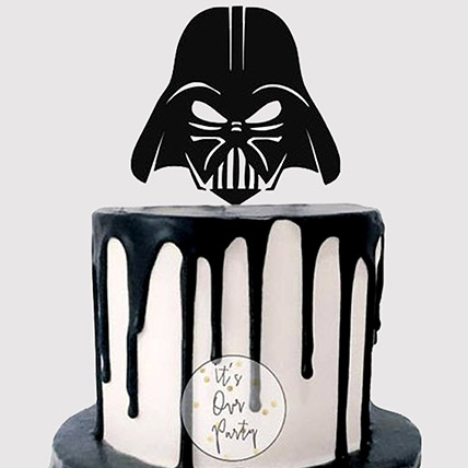 Darth Vader Helmet Mask Cake: Star Wars Cakes
