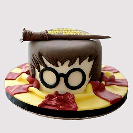 Harry Potter Wand Cake: Harry Potter Themed Cakes