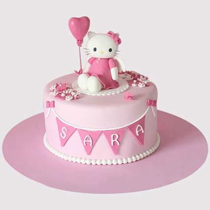 Hello Kitty Birthday Party Cake: Hello Kitty Cake
