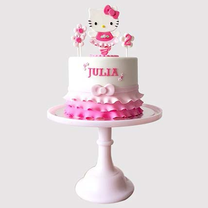 Hello Kitty Themed Cake: