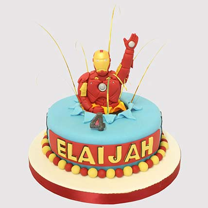 Iron Man Surprise Cake: Iron Man Birthday Cakes