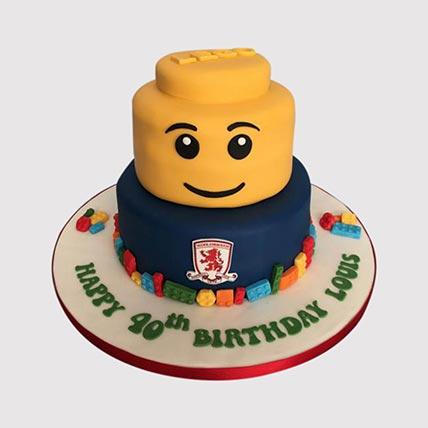 Lego Chelsea Cake: Lego Birthday Cakes