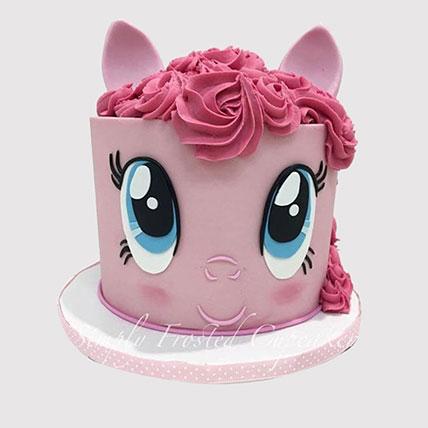 Pinkie Pie Designer Cake: Little Pony Cakes