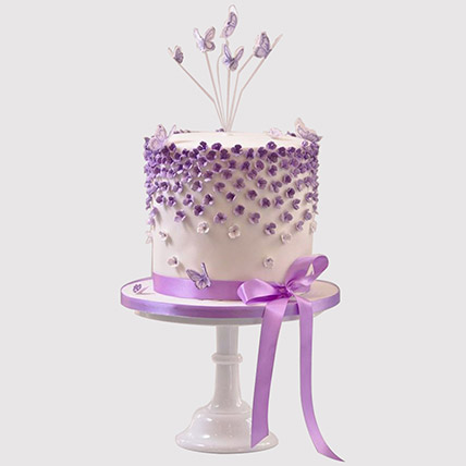 Pretty Butterfly Cake: Butterfly Theme Cakes