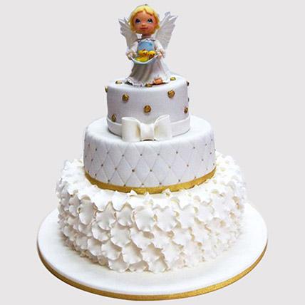 Welcome Angel Cake: Christening Cake