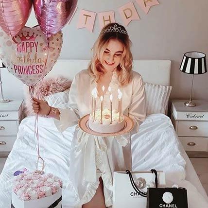 Lovely Birthday Surprise: Balloon Decorations