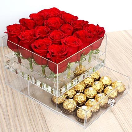 Elegant Roses and Ferrero Rocher: Valentine Day Gift Hampers to Ajman