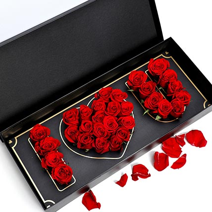 I Love You Red Roses: Valentine Flowers in Abu Dhabi