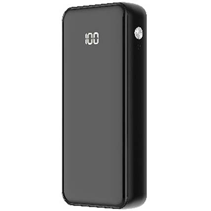 Black Compact Powerbank: Electronics Accessories