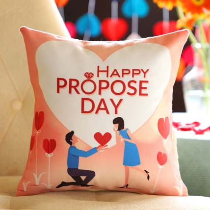 Proposing Her Cushion: Propose Day Gift Ideas