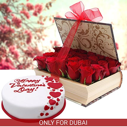 Romance with Cake N Flowers: Valentine Gifts for Wife