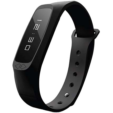 Black Lightweight Activity Tracker:  Business Gifts