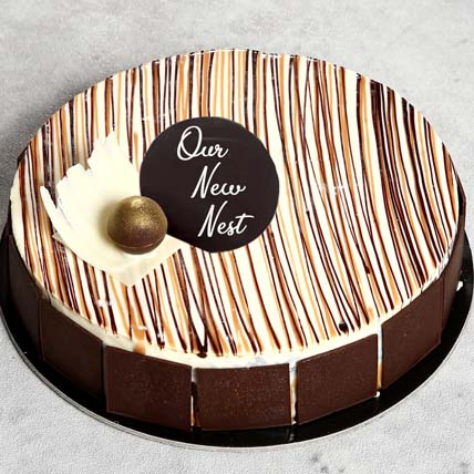 House Warming 4 Portion Marble Cake: