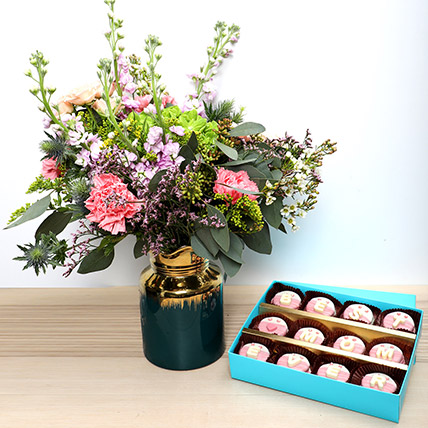 Best Mom Cookies N Flowers: