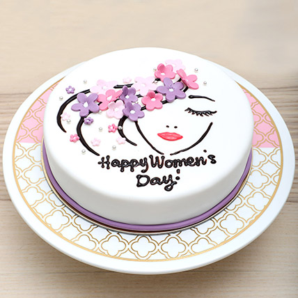 Chocolate Womens Day Cake: