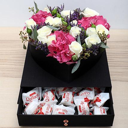 Roses N Chocolates Combo: