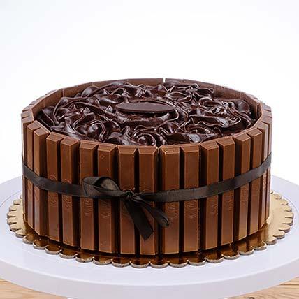 KitKat Chocolate Cake: Order Anniversary Cake