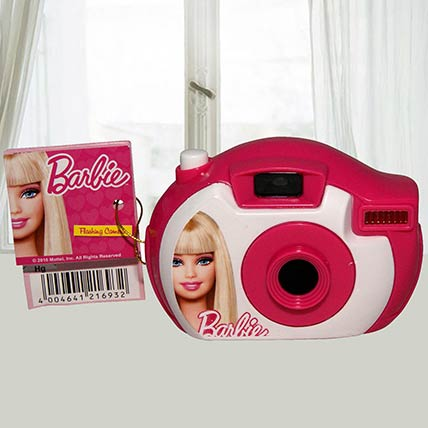 Barbie Camera Toy With Candies Set of 2: