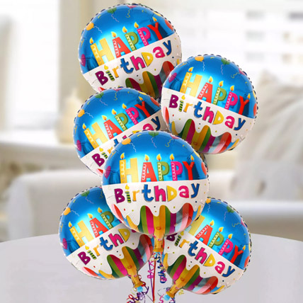 Happy Birthday Foil Balloons: Gifts