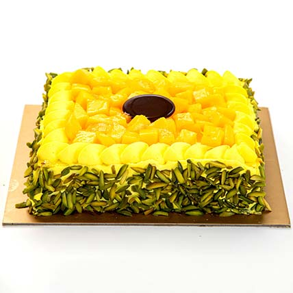 Mango Mousse Cake: Anniversary Cakes to Sharjah