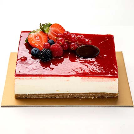 Strawberry Cheese Cake: Cakes for Husband