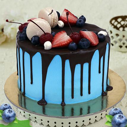 Chocolate Fruity Cake: Rakhi Gifts for Sister
