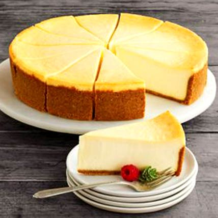 Frozen New York Cheesecake: Anniversary Gifts