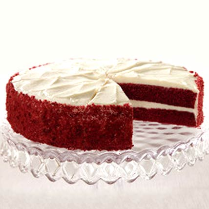 Two Layer Red Velvet Cake 1.3kg: Best Cake in Abu Dhabi