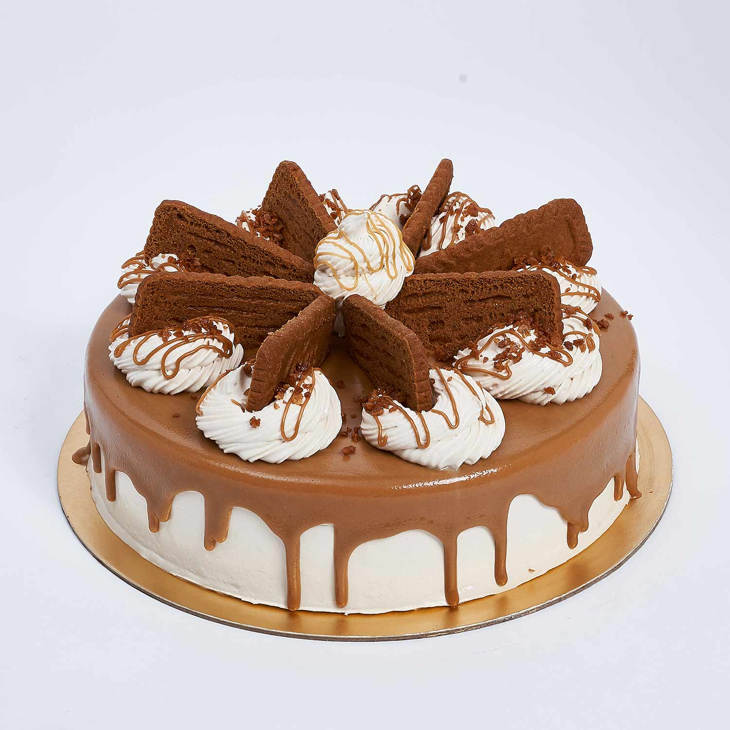 Heavenly Lotus Biscoff Cake: Cake Shops