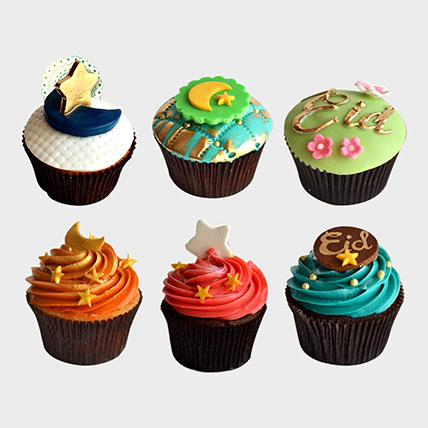 Eid Cup Cakes: Eid Gifts