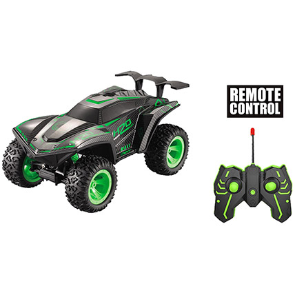 Climbing Stunt Remote Control Car - Green: