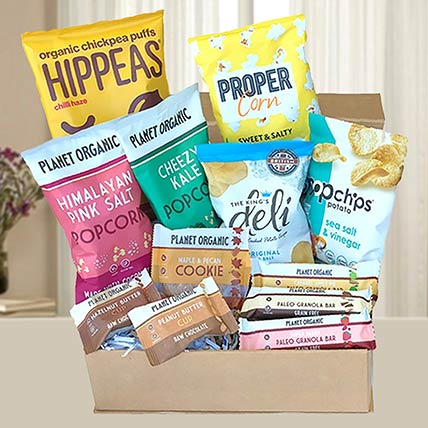 Gourmet Healthy Snack Hamper: Gift Ideas for Boss