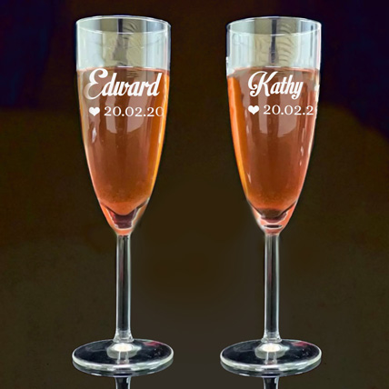 Personalised Engraved Juice Glass: Engraved Personalised Gifts