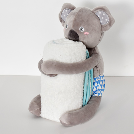 Kuala Soft Toy with Baby Blanket: Toys for Kids